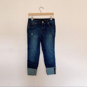 1822 Denim Taylor Cuffed Skinny Jeans size 8